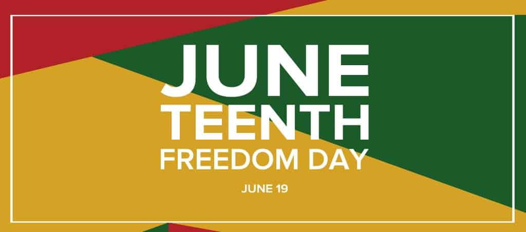 Juneteenth Freedom Day June 19