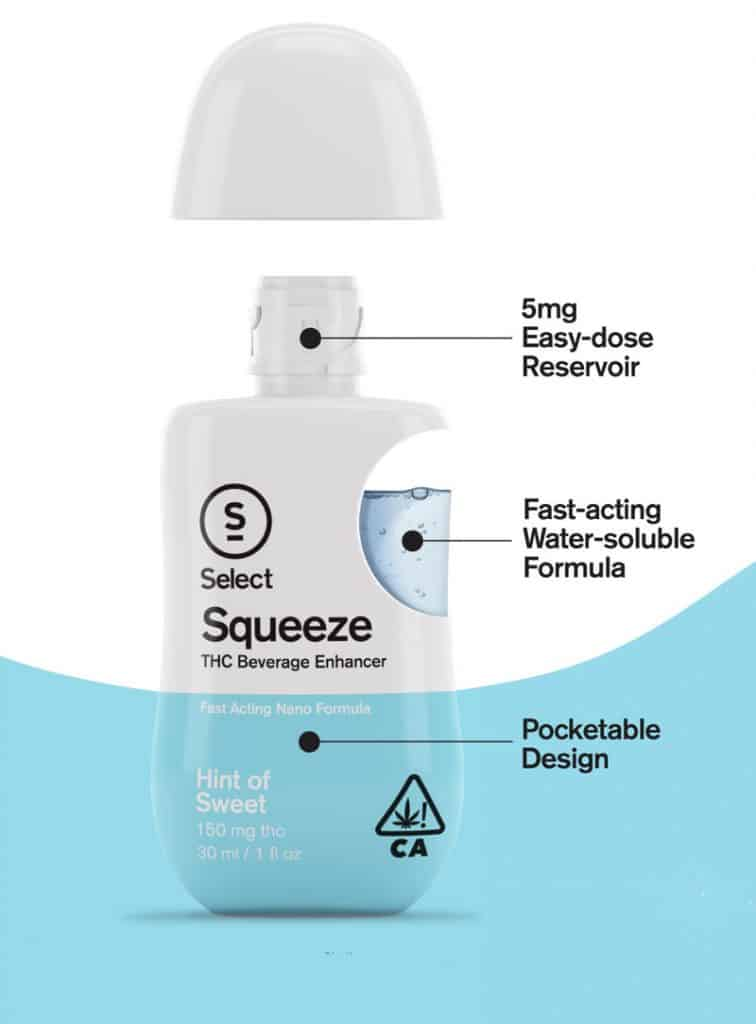 Squeeze product package